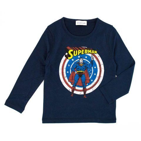 T-shirt superman enfant Simple Kids - Maralex Kids