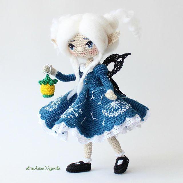 Маранонэ -хранительница ваших снов ! Каркасная кукл...❤️