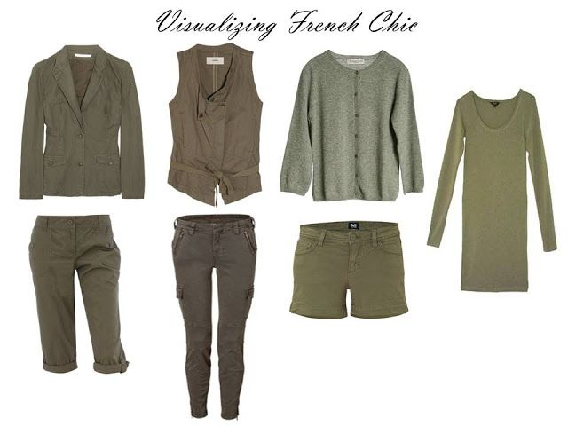 Visualizing French Chic: olive, and young, and casual | The Vivienne Files