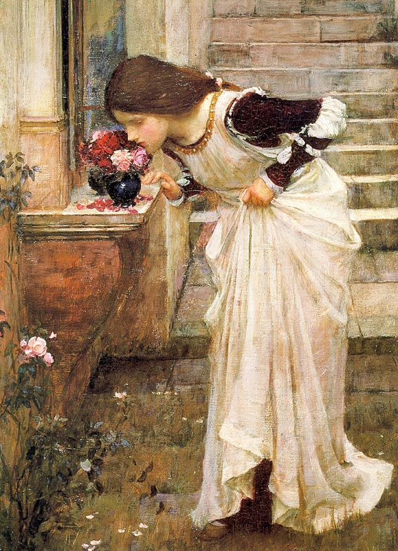 At the Shrine - John William Waterhouse