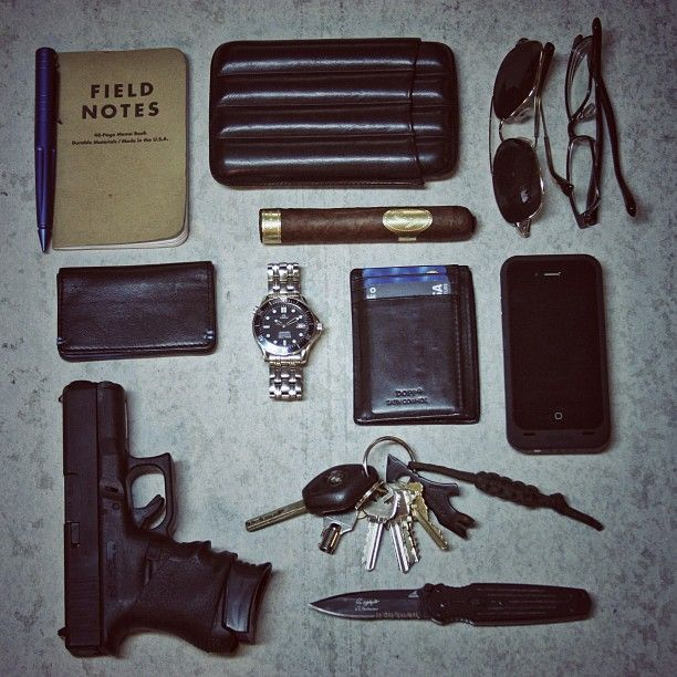 Everyday men's accessories...if that man happens to be James Bond.