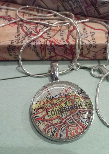 Edinburgh Silver pendant. By Compass Alba | Flickr - Photo Sharing!