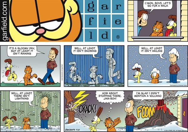 Garfield for 7/27/2014 | Garfield | Comics | ArcaMax Publishing