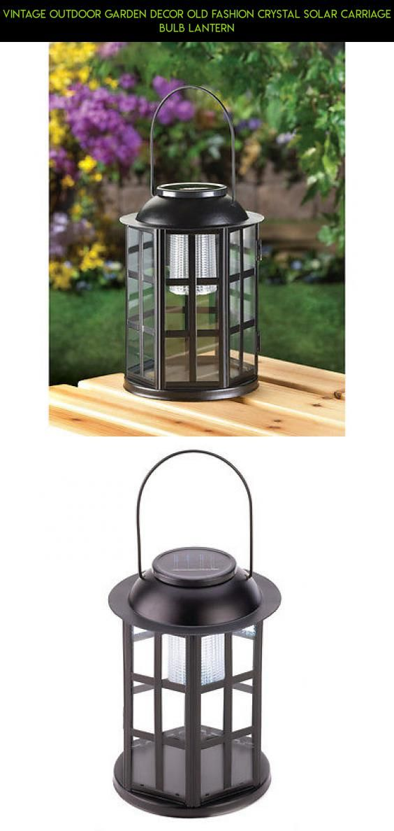 Vintage Outdoor Garden Decor Old Fashion Crystal Solar Carriage Bulb Lantern #outdoor #gadgets #racing #decor #shopping #tech #technology #plans #kit #drone #products #fpv #parts #lantern #camera