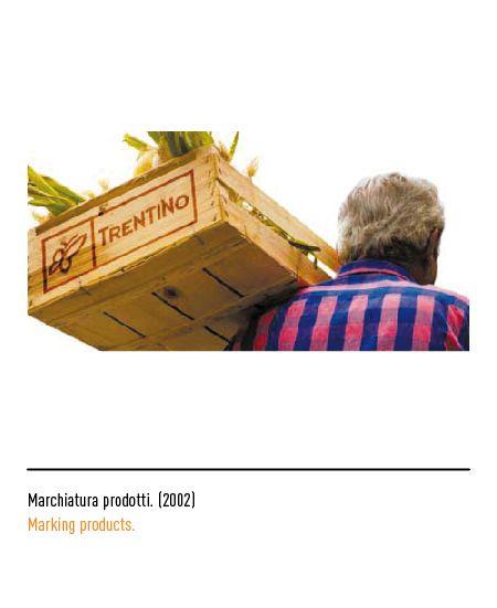 Marchio Trentino - Marchiatura prodotti 2002