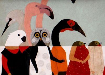 "littlechien: "" littlechien via illustration-ilustracion dennishopper: "" Simone Rea "" """