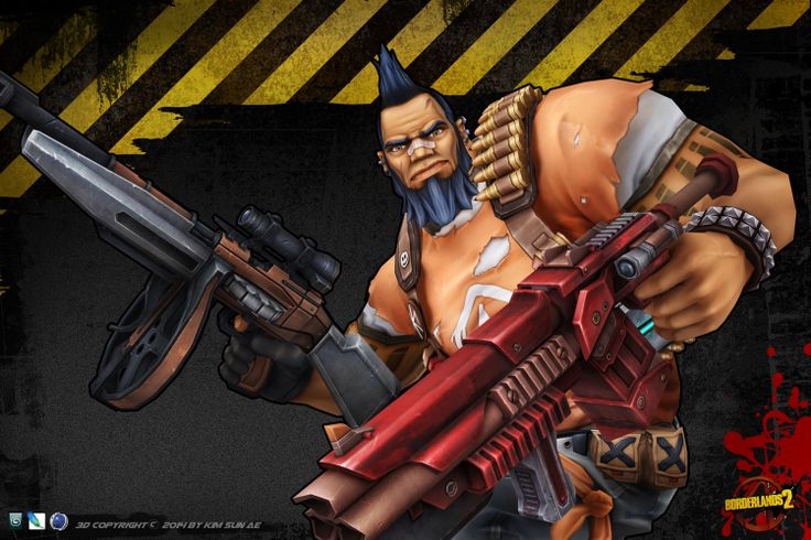 Borderlands2, Salvador  세번째 손맵