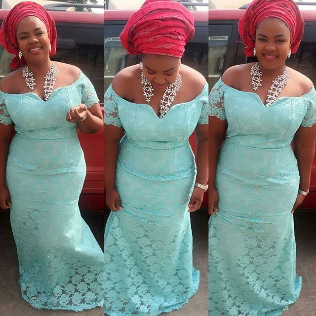 Zaineey's Blog : Current Lace Aso Ebi Styles You Can Rock in Owambe...