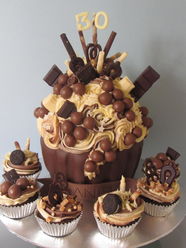 gold giant cupcake - Google Search