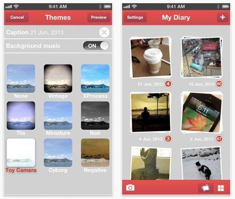 Bambooapps proporciona a los usuarios de dispositivos iPhone la capacidad de crear una película a partir de las fotografías que hayamos capturado a lo largo del día. $26 MX