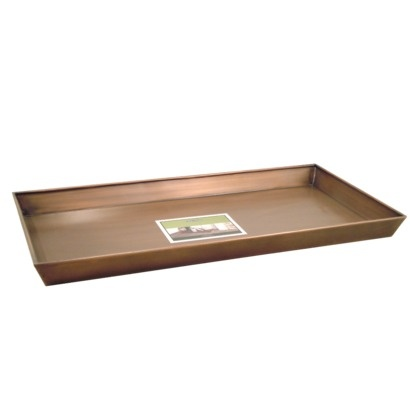 Copper Boot Tray 31x15 2x2 3 Quot Smith Amp Hawken The O