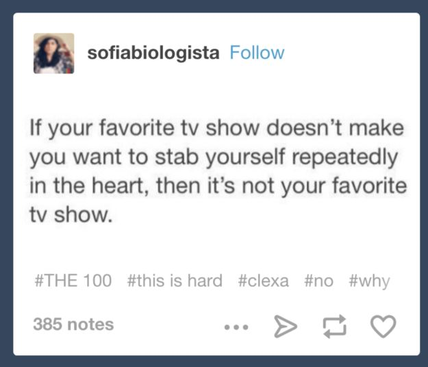 A great series hooks you from the start and refuses to let go — and as anyone who has fallen for a show knows, things can get personal real quick: