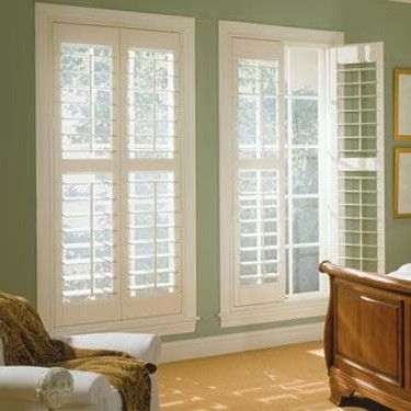 Great for the 2 front bedrooms.  I like that they are mounted in the window and not out. Shutters that can enhance your interior windows