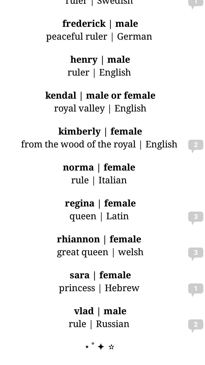 Character Names For Your Story 19