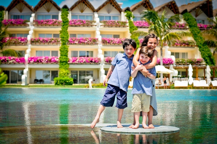 Enjoy a relaxing family vacation on the Riviera Maya.