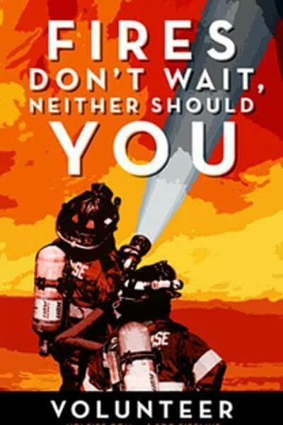 Firefighter Recruiting Poster
