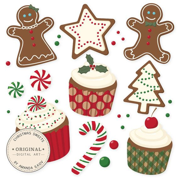 100 best Christmas Cookies images on Pinterest | Clip art ...