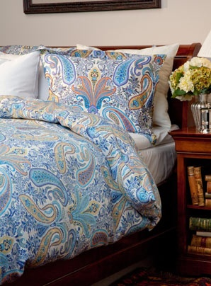 I have always loved the Paisley pattern, it's absolutely fabulous!