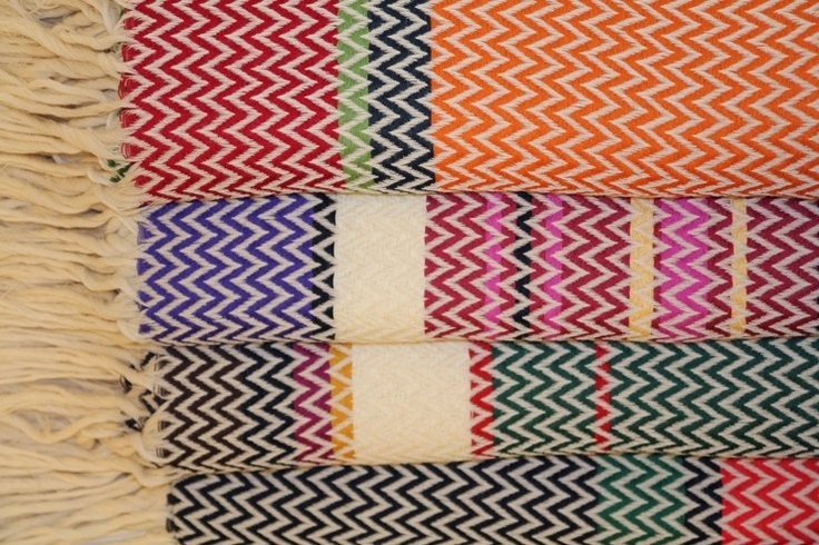 'Bunad Blankets' is a series of blankets based on Norwegian tradition being launched during the London Design Festival (September 2012) by Norwegian designer Andreas Engesvik (b.1970). via Bright Bazaar. Source: the designer's site
