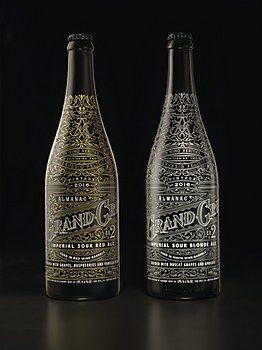Almanac Beer Company packaging
