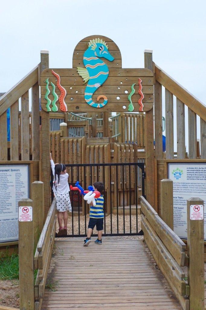 HOT: Rye's Up Community Playground, 2387A Point Nepean Rd, Rye, Mornington Peninsula http://tothotornot.com/2016/04/hot-ryes-up-community-playground-point-nepean-rd-rye-mornington-peninsula/