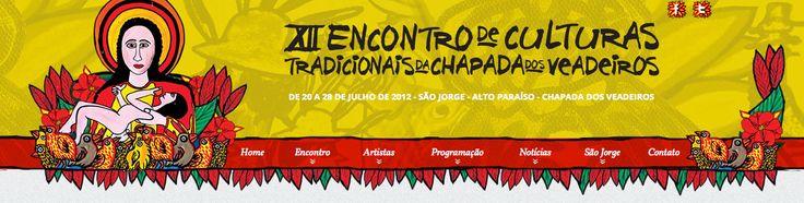 Encontro de Culturas Tradicionais da Chapada dos Veadeiros | Vila de São Jorge, Alto Paraiso de Goiás | Cartaz
