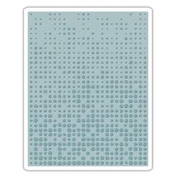Tim Holtz Alterations by Sizzix Dot Matrix Texture Fades Embossing Folder