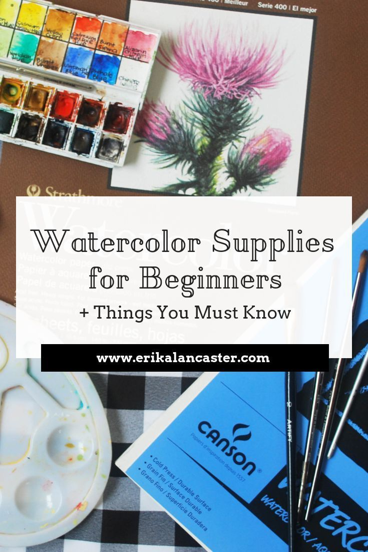 Watercolor Supplies For Beginners And Things You Must Know In 2020