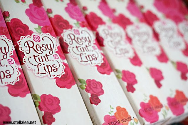 Etude House Rosy Tint Lips Review and Swatch - *☆ Stella Lees Blog ☆*