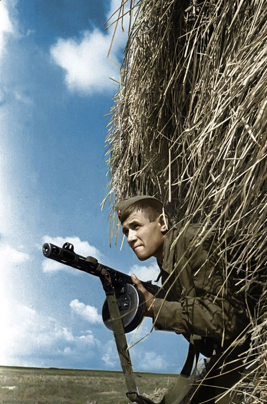 Soviet soldier - Great Patriotic war 1941 1945