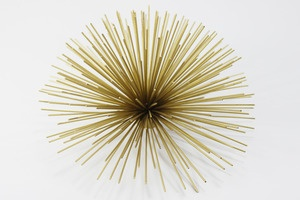 Sea urchin : Brass Urchins, Medium Price, Brass Shiny, Downstairs Inspiration, Bronze Puff, Fab Brass, Campaigns Chest, Brass Wall, Decor Accessories
