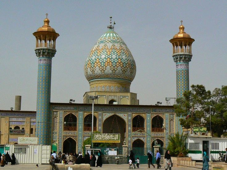 One of the most magnificent mosques of Shiraz, Iran