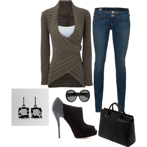 Great sweater: Shoes, Sweaters, Style, Smart Outfit, Fall Outfits, Fall Looks, Fall Fashion, Polyvore, Create