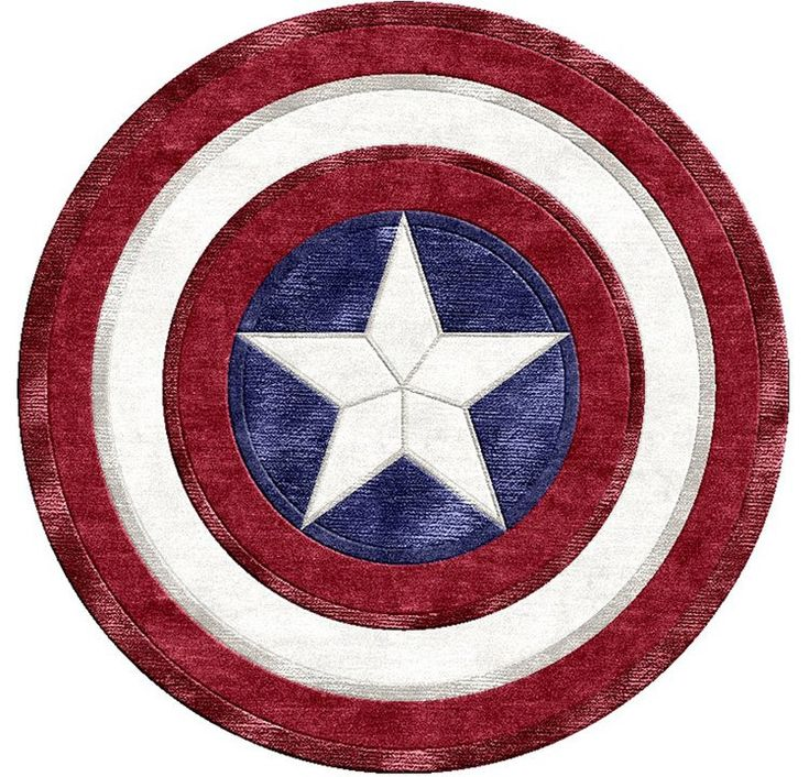Tapis Captain America - Geek - Blog de PNG