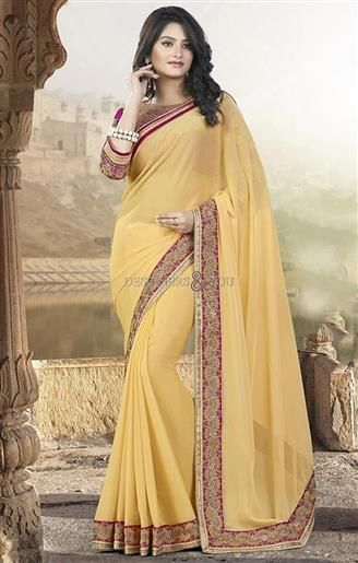 Incomparable new styles sarees design for draping to look slim and smart  #Trendy Saree #Model #New Look #Embroidered #Indian Wear #Gorgeous #Beauty #Fancy #Nice