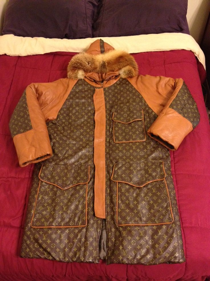 Alpo Martinez x Dapper Dan Louis Vuitton Snorkel Jacket Splash ...
