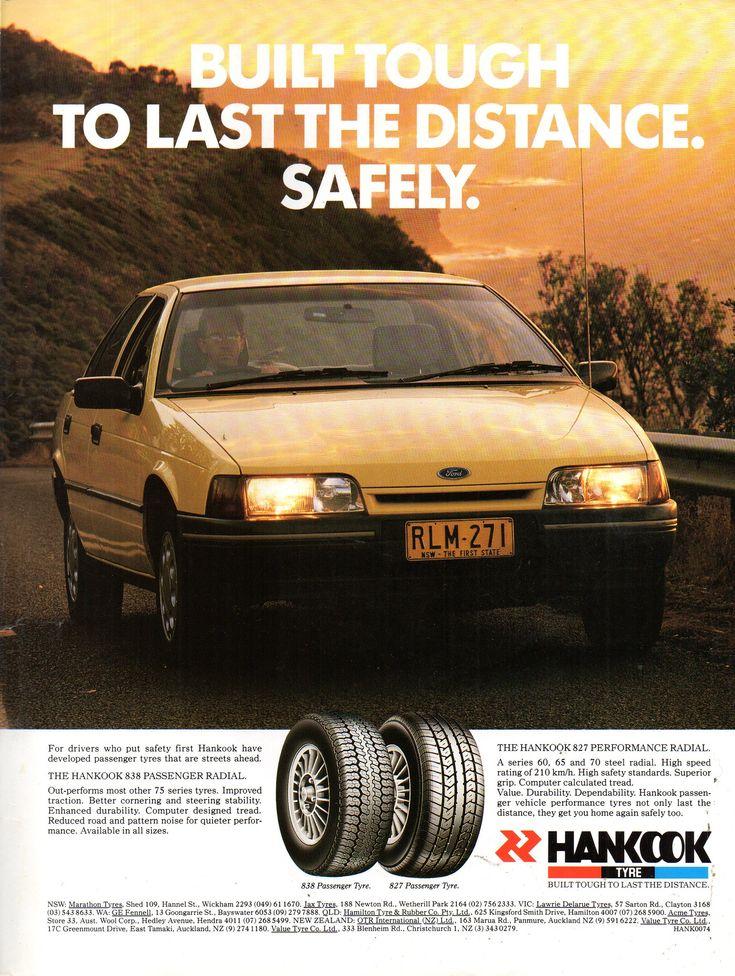 1992 Hankook Tyres Ea Ford Falcon Sedan Aussie Original