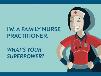 Family Nurse Practitioners to the Rescue!  Primary care is in jeopardy as more Americans gain access to healthcare — and fewer physicians are available. Who will save the day? Learn why family nurse practitioners (FNPs) are today's healthcare superheroes.