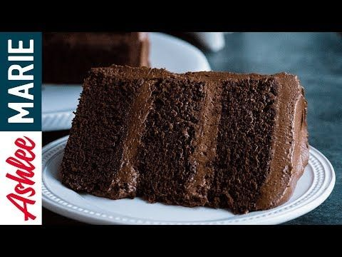 How to make the Perfect Chocolate cake - Rich, dense moist cake recipe with Ganache Buttercream - YouTube