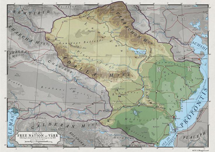 110 best deviantart scifi world maps images on pinterest maps atlas elyden 8 a map of varr by vorropohaiahiantart fantasy map makercartographymapsfantasy gumiabroncs Choice Image