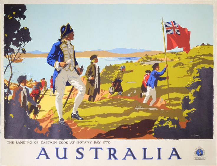 Australia by Percy Trompf (1902-1964)