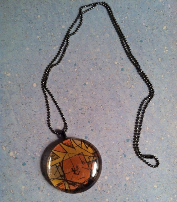 and Hobbes Glass Pebble necklace on Etsy, $12.00: Pebble Necklaces ...