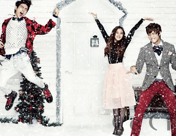 Wonder Girls' Hyelim and JJ Project in CeCi December 2012