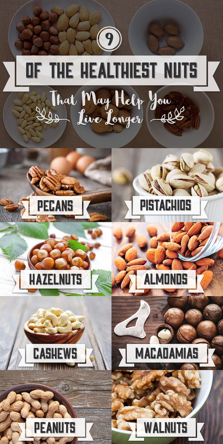 9 of the Healthiest Nuts (that May Help You Live Longer)