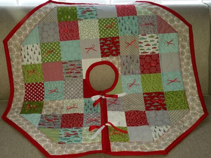 Christmas Tree Skirt Pattern From Missouri Star Quilt
