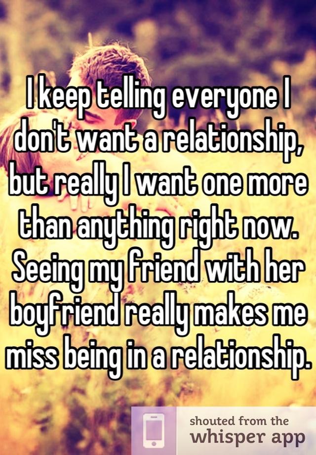 ex in relationship