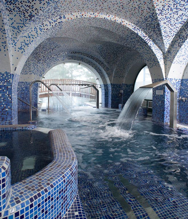 Circuito termal del Parador de Santa Cruz de Tejeda, hotel en un enclave único a 1.500 metros de altitud en la isla de Gran Canaria.