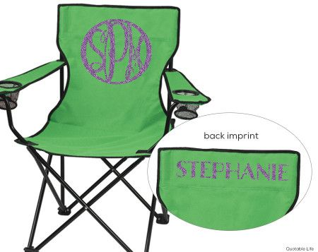 back of beach chair silhouette. Monogram Folding Chair Back Of Beach Silhouette
