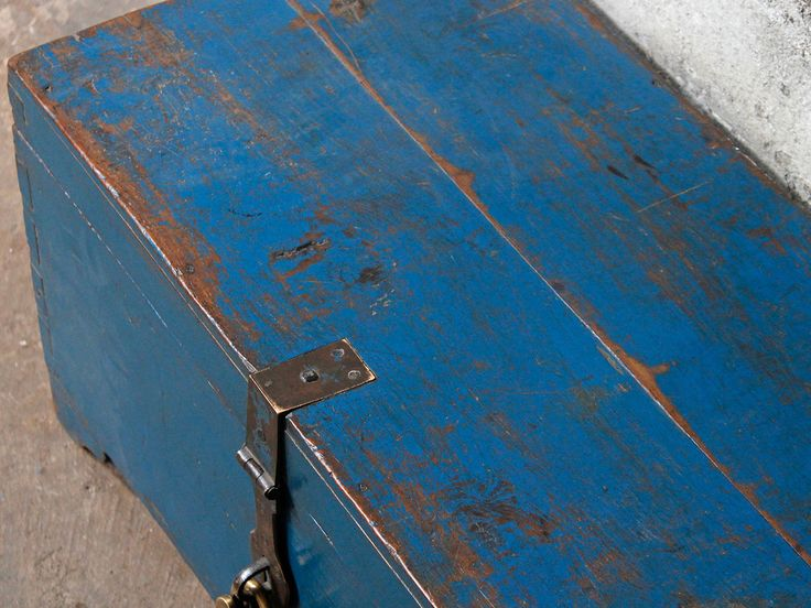 Vintage Blue Chest rom Scaramanga's unique vintage furniture and interiors #decorideas #vintagefurniture #homedecor