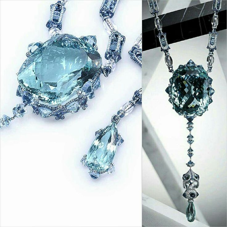 Swimming Pool Jewelry : A drop in the ocean necklace by wallace chan with cool